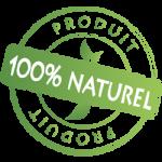 "Logo ""PRODUIT 100% NATUREL"""